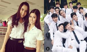 Trường đại học nhiều trai xinh, gái đẹp theo học ở Thái