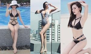 Sao Việt thổi bay nắng nóng bằng bikini đốt mắt