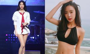 6 idol nữ mặt xinh, body 'nhìn là mê' nhưng mãi chẳng nổi