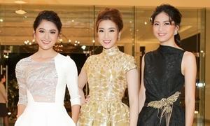 Top 3 Hoa hậu Việt Nam 2016 đọ sắc vóc không ai kém ai