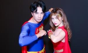 Sĩ Thanh rủ rê người yêu điển trai hóa siêu anh hùng