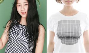 Những chiếc áo phông ảo giác khiến bất cứ ai cũng có vòng 1 'khủng'