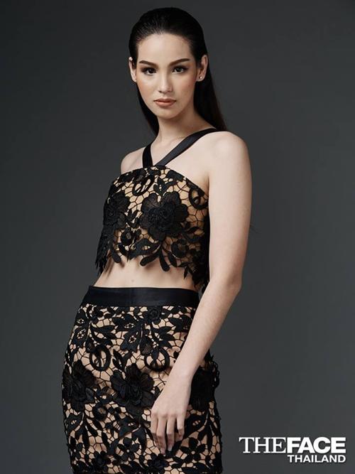 Julie - gương mặt gây chú ý tại The Face Thái Lan mùa 3.