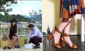 Giày Minh Vân 'Sống chung với mẹ chồng' giá 200k thành trào lưu hot