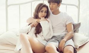 MLee sexy trong MV ngôn tình bên trai đẹp