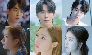 Cặp đôi 'Cô dâu Thủy thần' không hề đổi nét mặt trong nhiều teaser