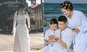 Sao Việt 16/6: Yến Chibi lộ nội y vì áo dài mỏng, Bảo Thanh khoe gia đình hạnh phúc
