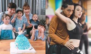 Sao Việt 17/6: Minh Hà khoe 4 nhóc tì, Phương Trinh đóng phim với Hữu Vi