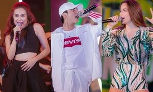 Dàn sao Vpop 'quậy' giữa đêm cùng fan Hà Nội