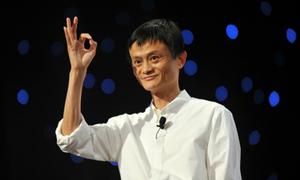 Jack Ma: 'Alibaba sẽ kiếm tiền nhiều ngang nước Anh vào năm 2036'
