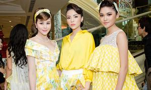 Dàn Hoa hậu, Á hậu đọ sắc trong show thời trang