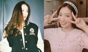 Sao Hàn 22/6: Park Shin Hye khoe vẻ đẹp nữ tính, Krystal làm mặt 'khó ở'