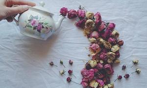 Ngây ngất với bộ ảnh 'Bình trà hoa' hot nhất Instagram