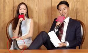 Bị chỉ trích vô duyên trước mặt Jessica, Rocker Nguyễn giải thích hành động gác chân