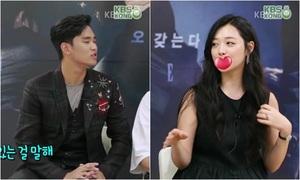 Sulli bình luận 'nhạy cảm' về cảnh hôn với Kim Soo Hyun
