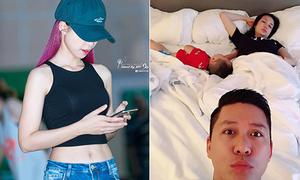 Sao Việt 26/6: Khởi My khoe bụng phẳng lỳ, Tuấn Hưng 'dìm' vợ con lúc ngủ