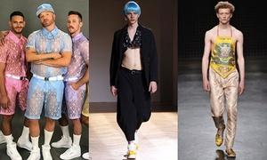 Trend thời trang nam giới 'knock out' con gái về độ điệu đà