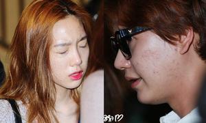 Loạt idol Kpop lộ nhan sắc thật qua ảnh chụp cận