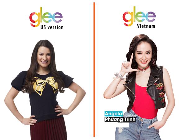 Angela Phương Trinh chia sẻ vai diễn trong Glee sẽ có nhiều cảnh nóng.