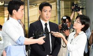T.O.P nhận án 10 tháng tù treo sau scandal hút cần sa