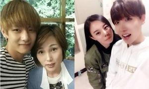 Loạt ảnh chứng minh vẻ bảnh bao của BTS được thừa hưởng từ gia đình