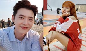 Sao Hàn 30/6: Lee Jong Suk vuốt tóc bảnh trai, Lisa khoe chân dài hút mắt