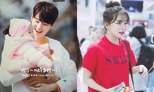 5 thần tượng Hàn được bình chọn sẽ là ông bố, bà mẹ tuyệt vời nhất
