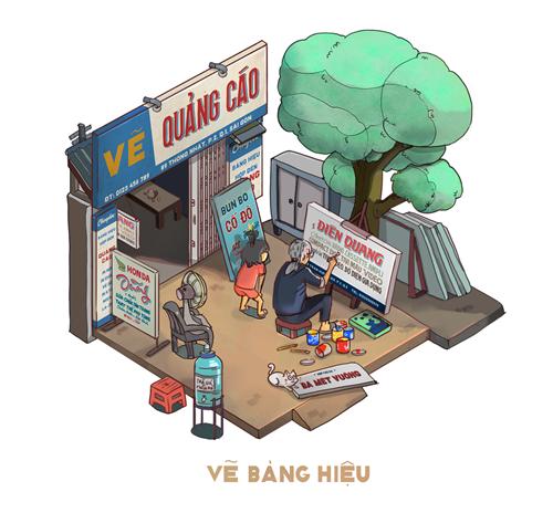 sai-gon-binh-di-qua-loat-tranh-3d-song-dong