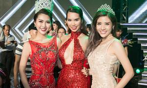 Hoa hậu Phan Hoàng Thu đọ sexy với Hà Anh, Tường Linh The Face