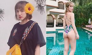 Sao Việt 3/7: Phương Ly giống hệt Bok Joo, Ngọc Thảo hở vòng 3 bốc lửa