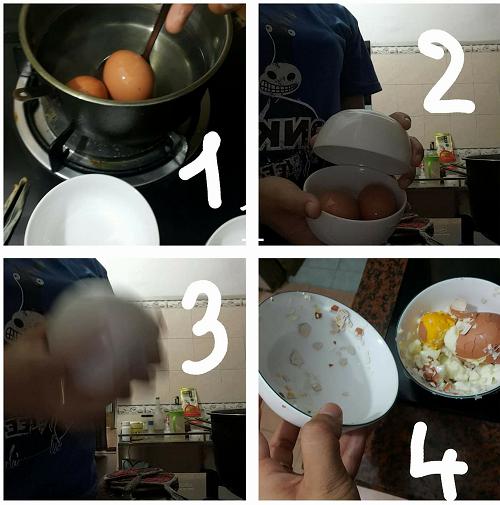 Hậu quả của việc học nấu ăn trên mạng.