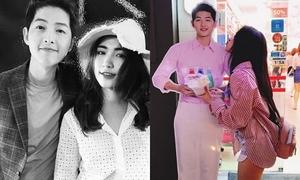 Hòa Minzy 'vỡ mộng' vì Song Joong Ki tuyên bố cưới Song Hye Kyo