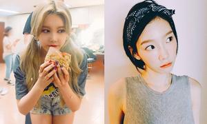 Sao Hàn 5/7: Tae Yeon mặt non choẹt, Qri ăn gian tuổi với style thiếu nữ