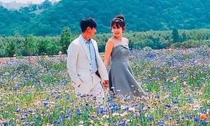 Vợ chồng Lý Hải - Minh Hà ngọt ngào như thuở mới yêu ở Hàn