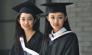 Lễ tốt nghiệp đâu cũng thấy người đẹp của 'lò đào tạo minh tinh' Trung Quốc