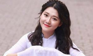Nữ sinh xinh đẹp Nghệ An đạt 9,75 điểm môn Văn