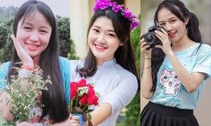 3 nữ sinh xinh đẹp giành điểm chót vót tại kỳ thi THPT Quốc gia