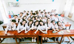 'Lớp học siêu nhân': 9 bạn vào thẳng đại học, 12 học sinh trên 29 điểm