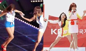 Những idol Kpop phản ứng nhanh, cứu đồng nghiệp khỏi tai nạn sân khấu