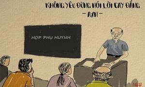 Tranh vui: Ca khúc Việt lấy cảm hứng từ thực tế