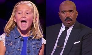 MC há hốc trước màn giả giọng động vật của cô bé 10 tuổi
