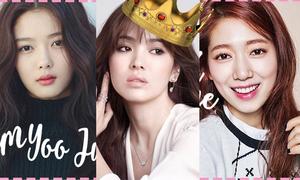 Những sao trẻ có thể 'kế vị' 3 mỹ nhân quyền lực nhất màn ảnh Hàn