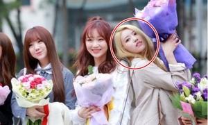 Mi Joo (Lovelyz): Mỹ nhân tạo dáng 'lố' nhất Kpop