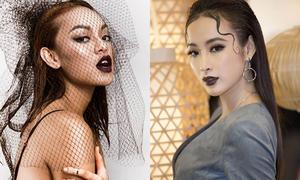 Người đẹp Việt khoe môi càng... thâm càng sang chảnh