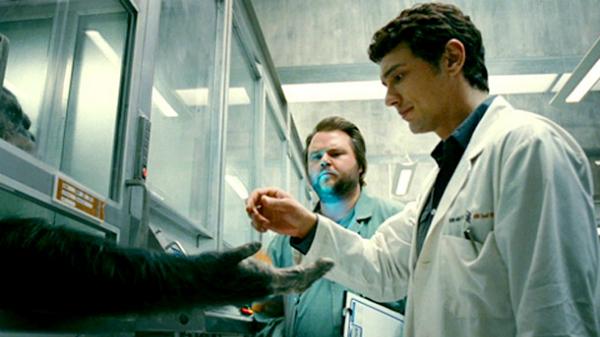 Hình ảnh gây xót xa trong Rise Of the Planet Of the Apes.