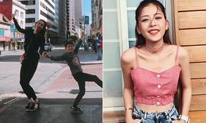 Sao Việt 11/7: Hà Hồ nhảy giữa đường với Subeo, Chi Pu khoe dáng 'mỏng dính'