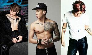 Quiz: Đố fan chỉ nhìn hình xăm cũng đoán được sao Hàn
