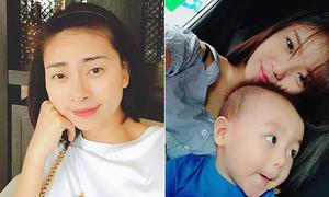 Sao Việt 14/7: Ngô Thanh Vân da đẹp không cần phấn, Lâm Á Hân khoe con trai cute