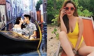 Sao Việt 16/7: Quang Đăng - Thái Trinh khóa môi 3D, Sĩ Thanh sexy 'chết người'