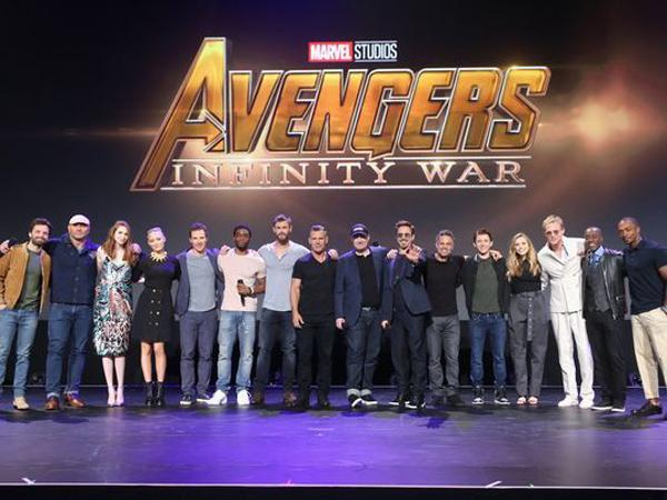 Dàn diễn viên đồ sộ sé góp mặt trong Avengers: Infinity War
